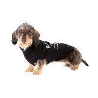 Pull pour chien Star noir