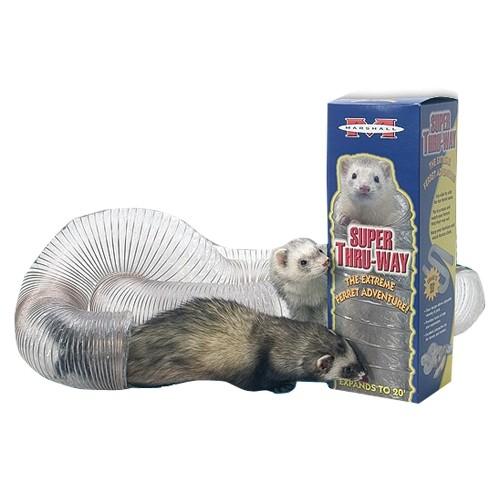 Tunnel de jeu pour petit furet et rat - Tunnel de jeu Thru-Way Marshall