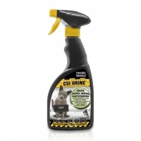 Détachant et désodorisant - Spray nettoyant chat et chaton CSI Urine