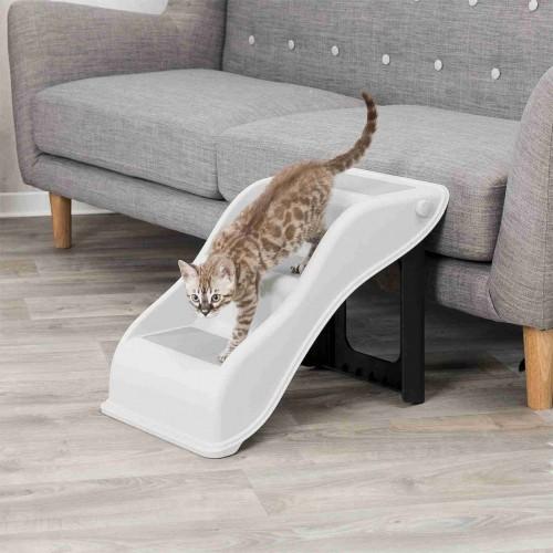 Accessoires chien - Escalier en plastique pliable pour chiens