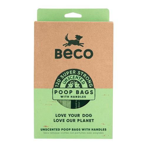 Accessoires chien - Grands sacs à crottes avec poignées pour chiens