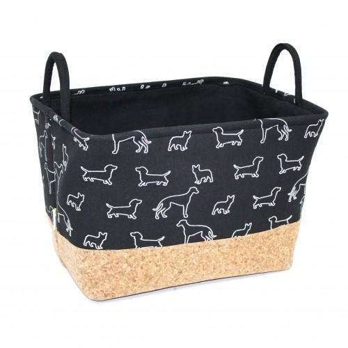 Accessoires chien - Panier de rangement pour chiens