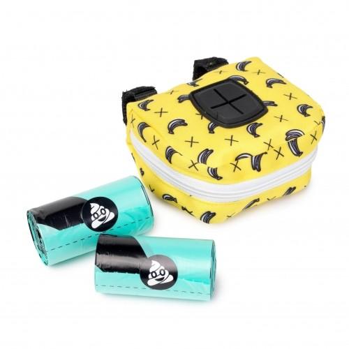 Accessoires chien - Distributeur de sacs Monkey Mania pour chiens