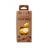 Ramasse-crottes pour chien - Sacs ramasse-crottes compostables Poop Bags