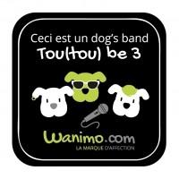 Accessoire fun - Magnets rigolos chien Wanimo