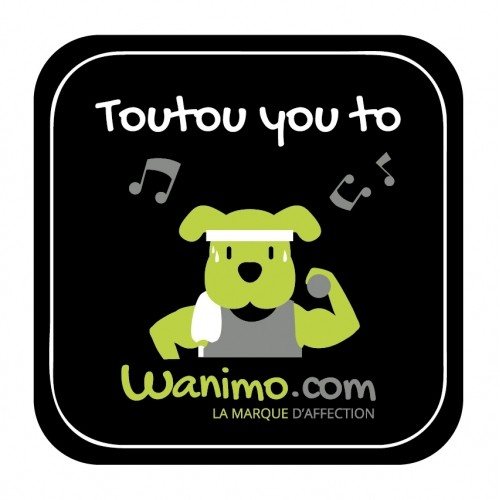 Accessoires chien - Magnets rigolos chien pour chiens