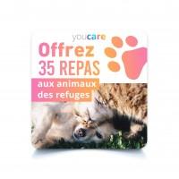 - Offrez 35 repas aux animaux des refuges, YouCare 35 repas offerts aux animaux en refuge