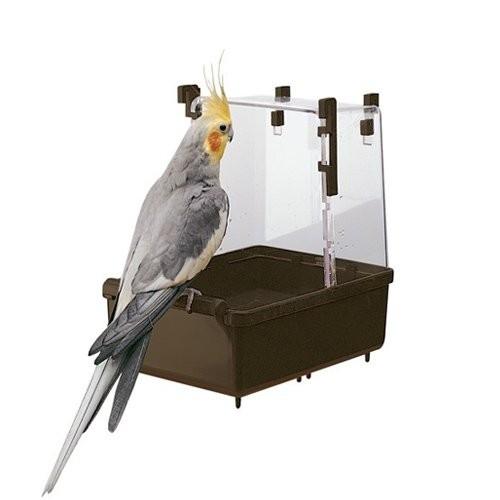 Accessoires pour cages - Baignoire perroquets pour oiseaux