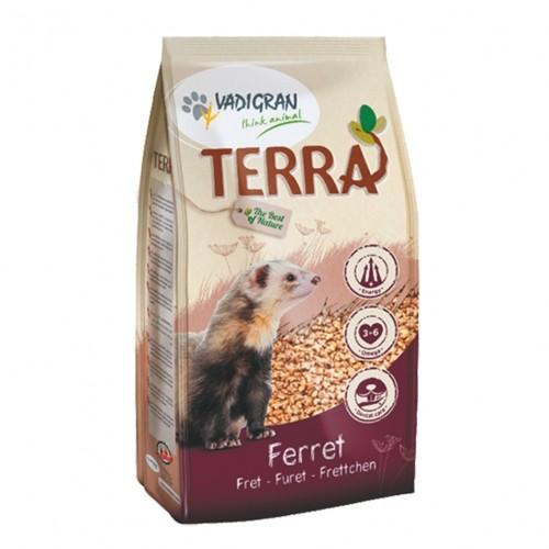 Aliment pour furet - Croquettes Terra Furet pour furets