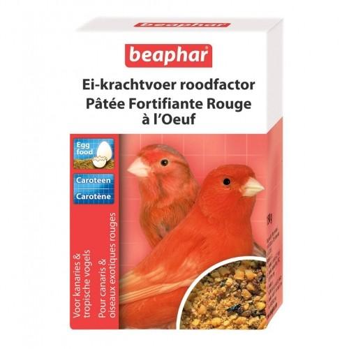 Aliment pour oiseau - Pâtée fortifiante rouge à l'oeuf pour oiseaux