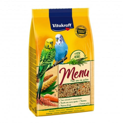 Aliment pour oiseau - Menu Vital Premium perruches pour oiseaux