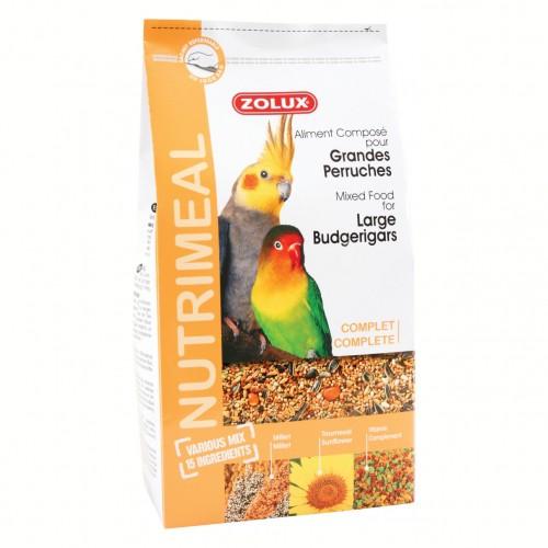 Aliment pour oiseau - Nutrimeal pour grandes perruches pour oiseaux