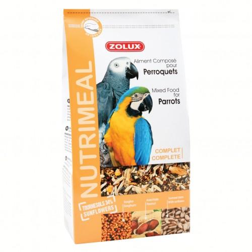 Mélange de graines pour perroquets - Nutrimeal pour perroquets Zolux