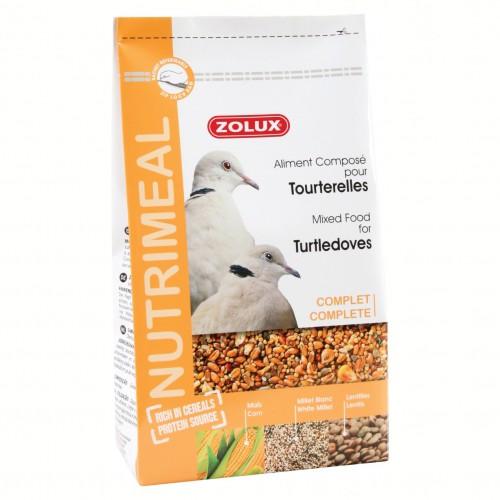 Aliment pour oiseau - Nutrimeal pour tourterelles pour oiseaux