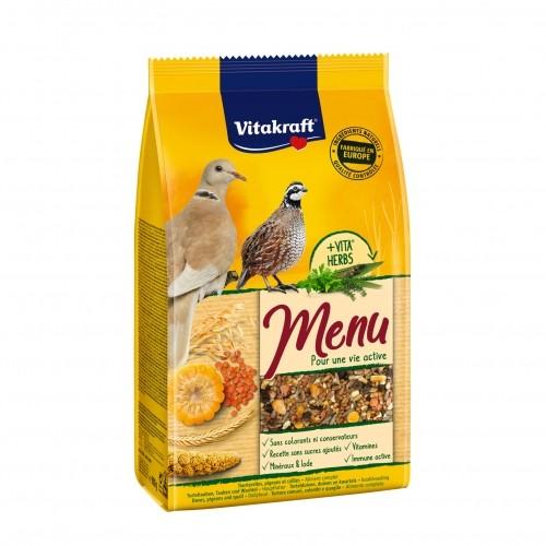 Aliment pour oiseau - Menu Premium Tourterelles pour oiseaux