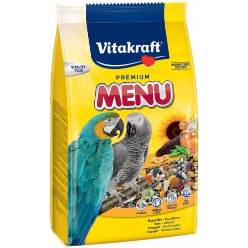 Aliment pour oiseau - Menu Vital Premium Perroquets pour oiseaux