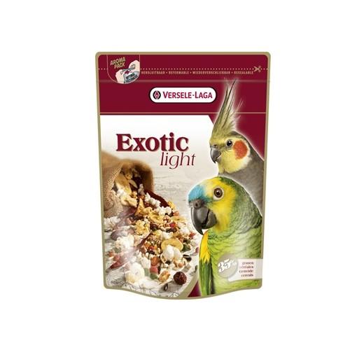 Aliment pour oiseau - Exotic Light pour grandes perruches et perroquets pour oiseaux