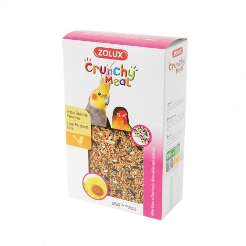 Aliment pour oiseau - Crunchy Meal Grandes Perruches pour oiseaux