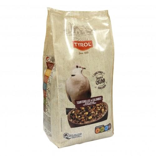 Mélange de graines pour tourterelles et colombes - Pic'Or Expert Tourterelles et Colombes Tyrol