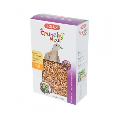 Aliment pour oiseau - Crunchy Meal Tourterelles pour oiseaux