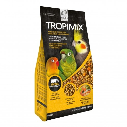 Aliment pour oiseau - Tropimix aliment enrichi pour perruches et perroquets pour oiseaux