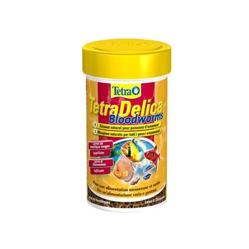 Aliment pour poisson - Delica Larves de Moustique pour poissons