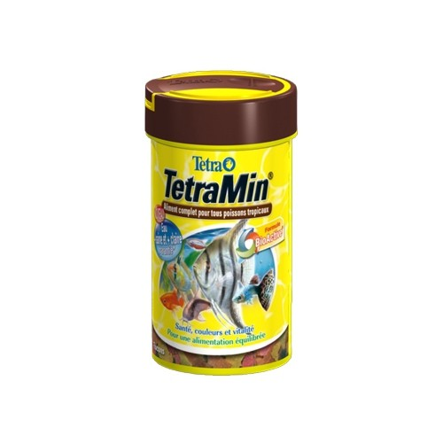 Tetramin aliments pour poissons tropicaux tetra wanimo for Aliment pour poisson