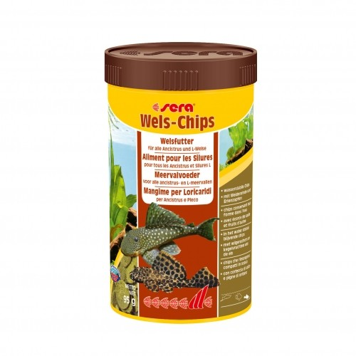 Aliments poissons exotiques  - Wels-Chips Sera