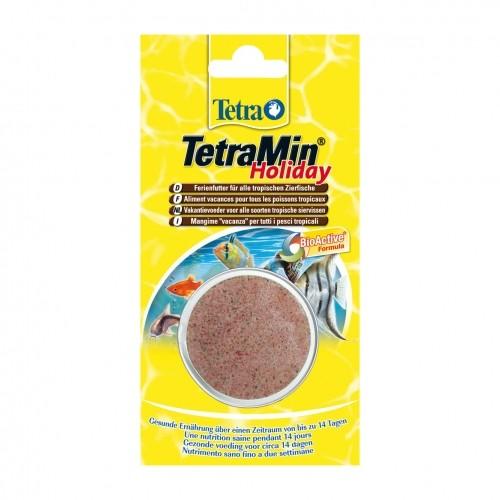 Tetramin holiday aliments pour poissons tropicaux for Aliment pour poisson