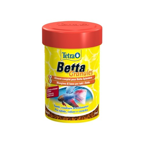 Betta granule aliments pour betta splendens tetra wanimo for Poisson aliment