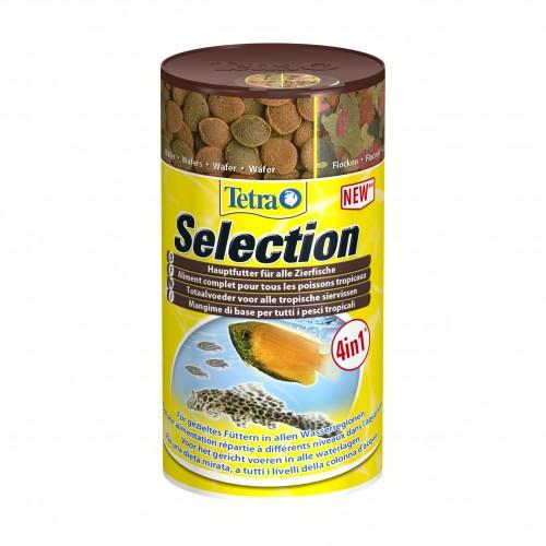 Aliment selection 4 en 1 aliment pour poissons tropicaux for Aliment pour poisson