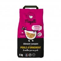 Aliment pour poules - Aliment Complet Beau Plumage Magalli
