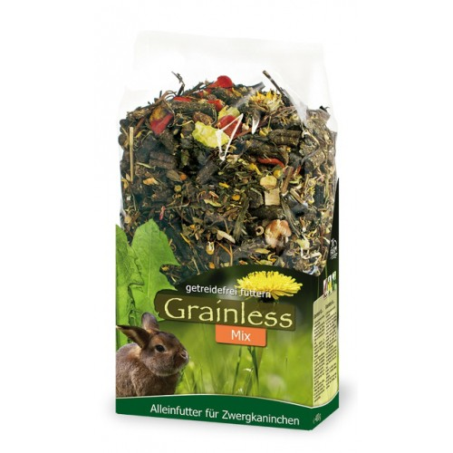 Aliment pour rongeur - Grainless Mix Lapin nain pour rongeurs