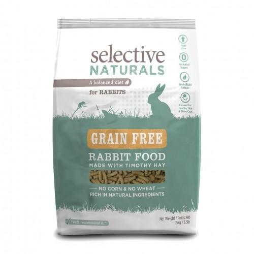 Aliment pour rongeur - Selective Naturals Grain Free Lapin pour rongeurs