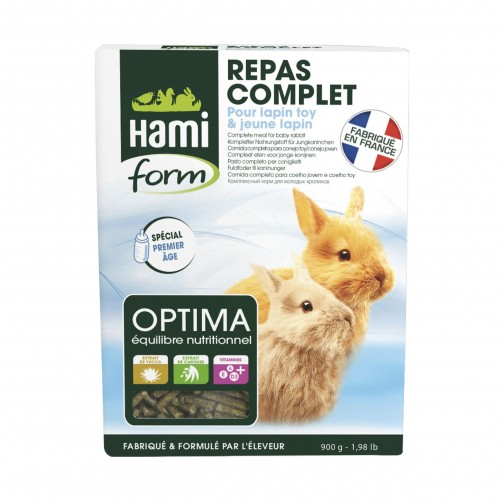 Aliment pour rongeur - Optima pour jeunes lapin pour rongeurs