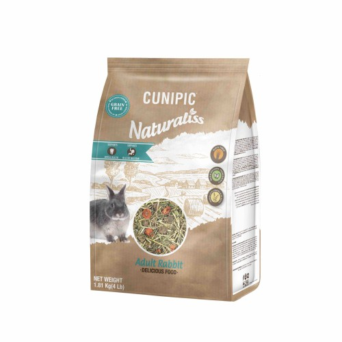 Aliment pour rongeur - Naturaliss Lapin adulte pour rongeurs