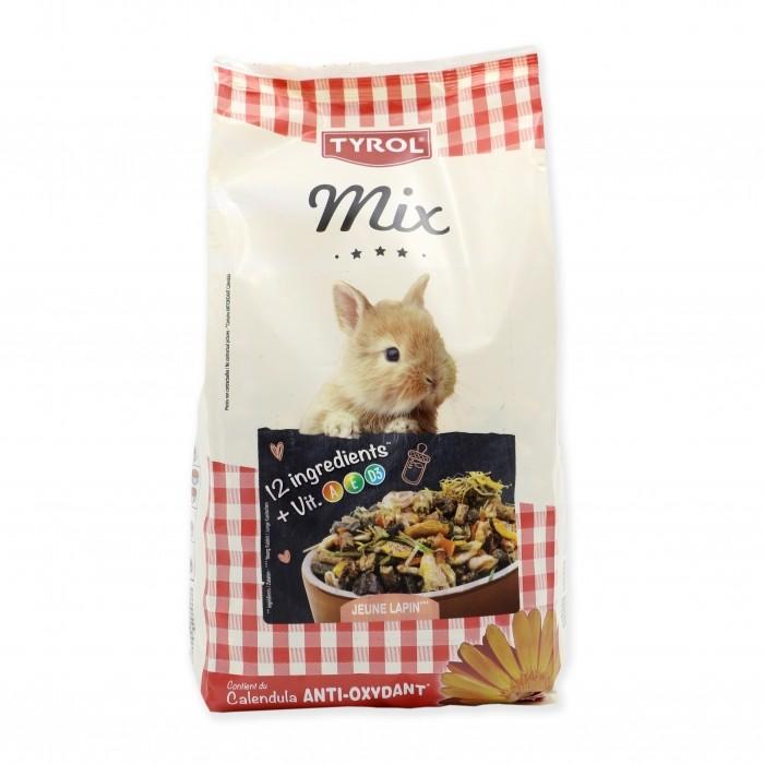 Aliment pour rongeur - Mix Lapin Junior pour rongeurs