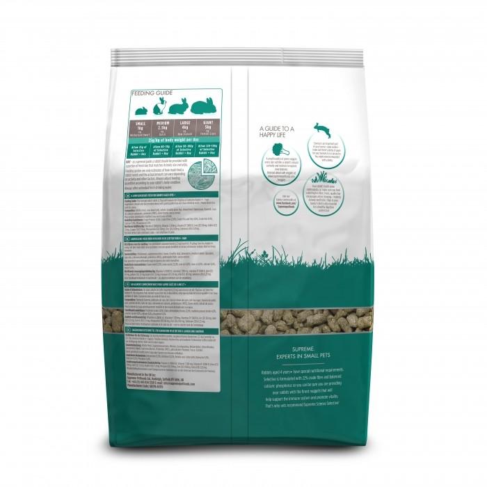 Aliment pour rongeur - Selective Lapin Senior 4+ pour rongeurs