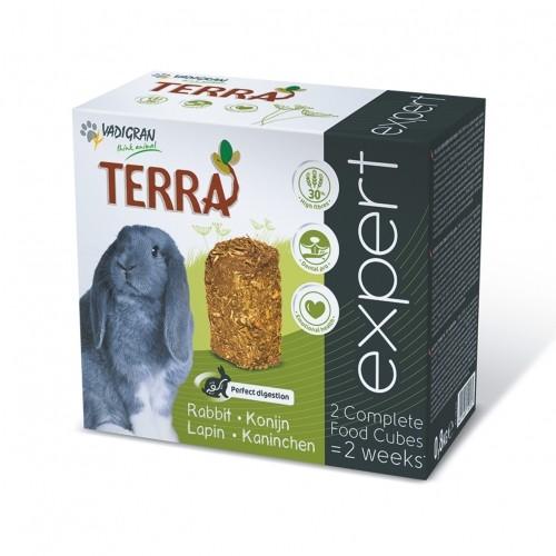Aliment pour rongeur - Cubes Terra Expert Lapin pour rongeurs