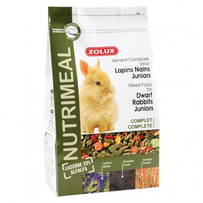 Aliment pour rongeur - Nutrimeal lapins nains juniors pour rongeurs