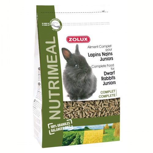 Aliment pour rongeur - Nutrimeal granulés lapins nains juniors pour rongeurs