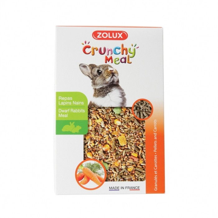 Aliment pour rongeur - Crunchy Meal Lapins Nains pour rongeurs