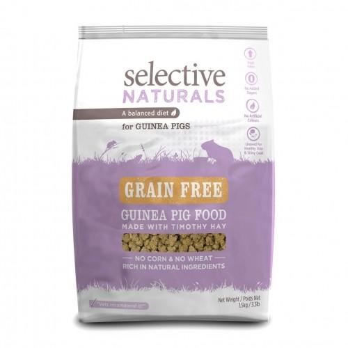 Aliment pour rongeur - Selective Naturals Grain Free Cochon d'inde pour rongeurs