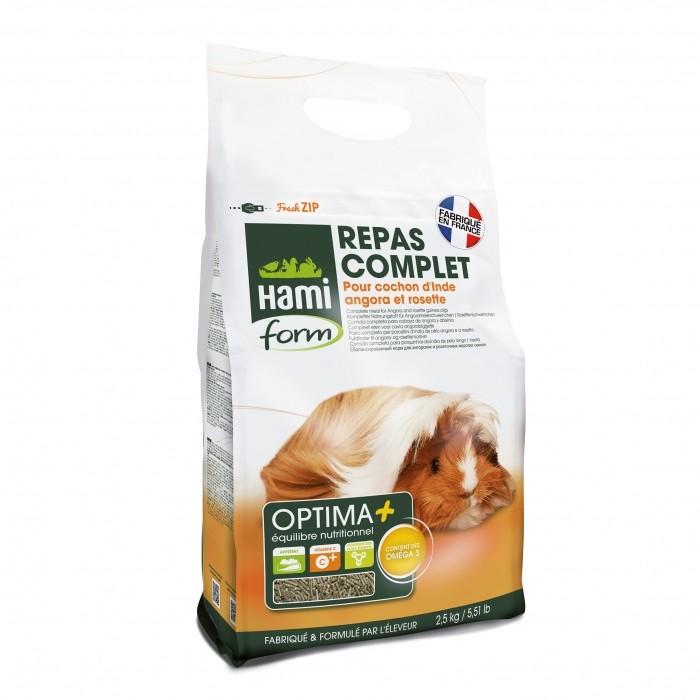 Aliment pour rongeur - Optima + Spécial Poils Longs pour rongeurs