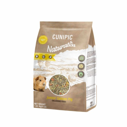 Aliment pour rongeur - Naturaliss Cochon d'Inde Junior pour rongeurs