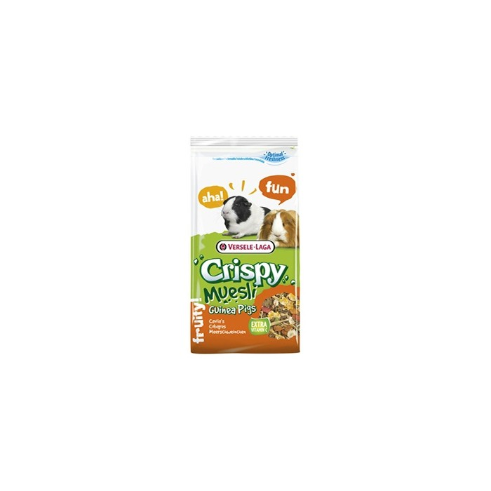 Aliment pour rongeur - Crispy Muesli - Cobaye pour rongeurs