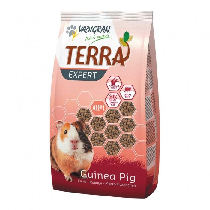Aliment pour rongeur - Granulés Terra Expert Cobaye pour rongeurs