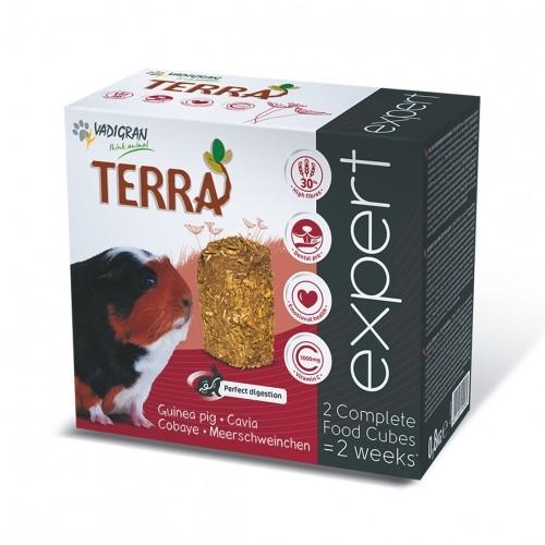Aliment pour rongeur - Cubes Terra Expert Cobaye pour rongeurs