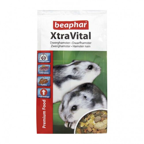 Aliment pour rongeur - XtraVital Hamster Nain pour rongeurs