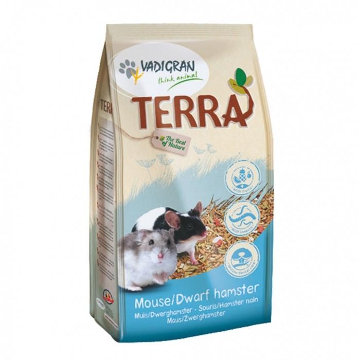 Aliment pour rongeur - Mélange Terra Souris et Hamster Nain pour rongeurs